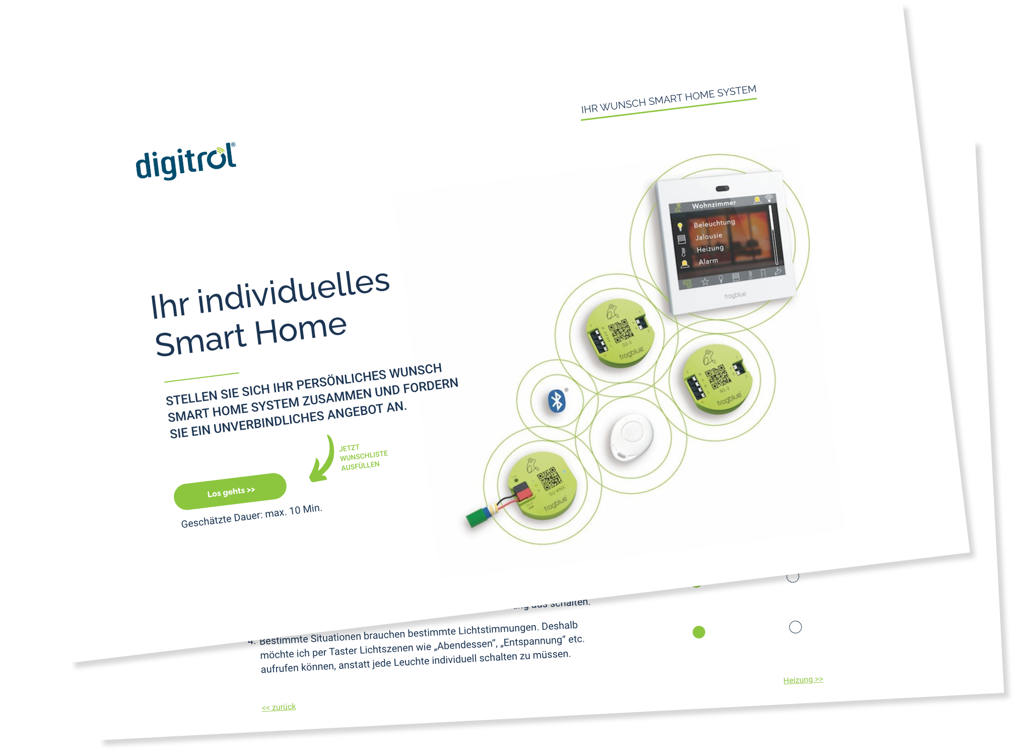 Digitrol Planung Smart Home